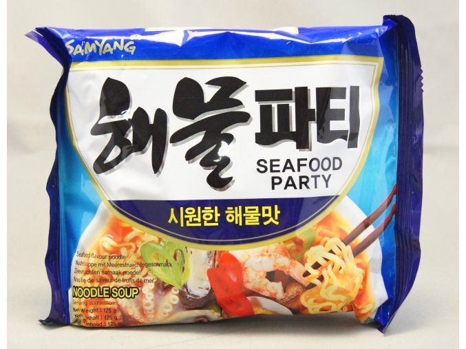 SamYang Seafood Party 125g