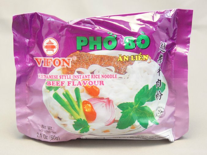 Vifon Instant Rice Noodle Beef 60g