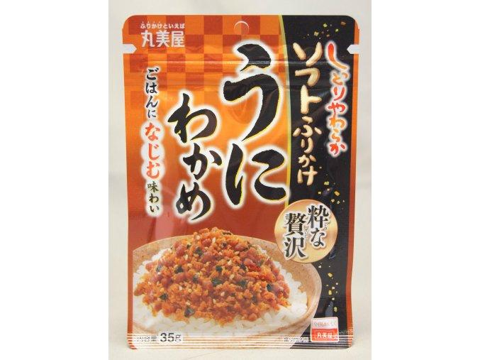 Marumiya Iki na Zeitaku Soft Furikake Uni Wakame 35g