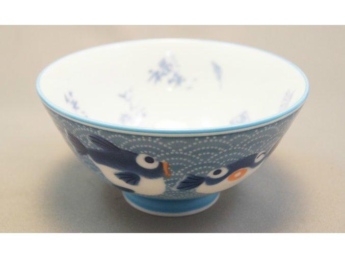 Fuji Blue Fish Bowl