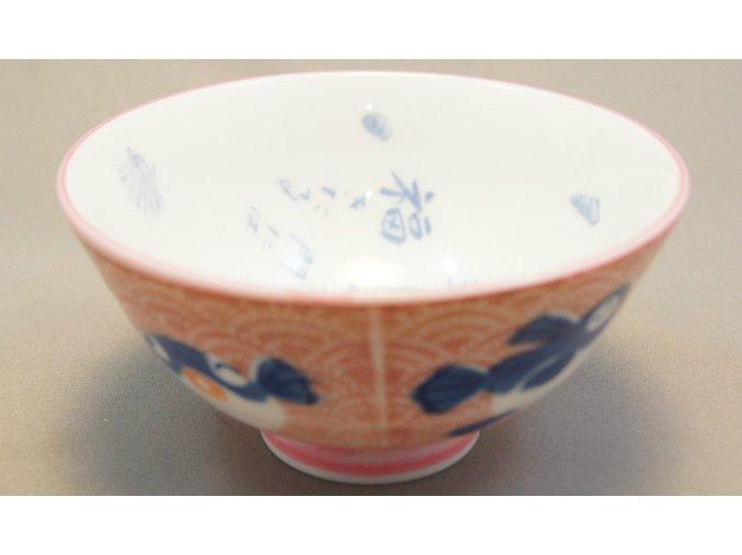 Fuji Red Fish Bowl