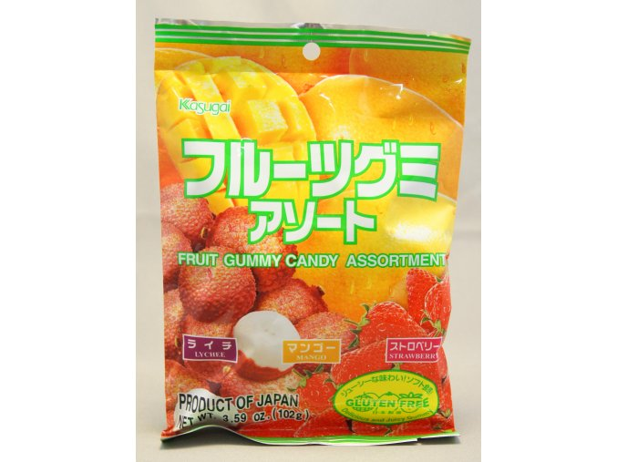 Kasugai mix gummy candy 102g