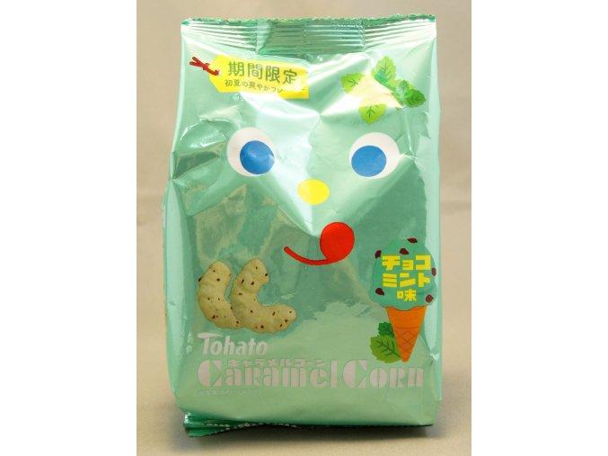 Tohato Caramel Corn Choco Mint 77g