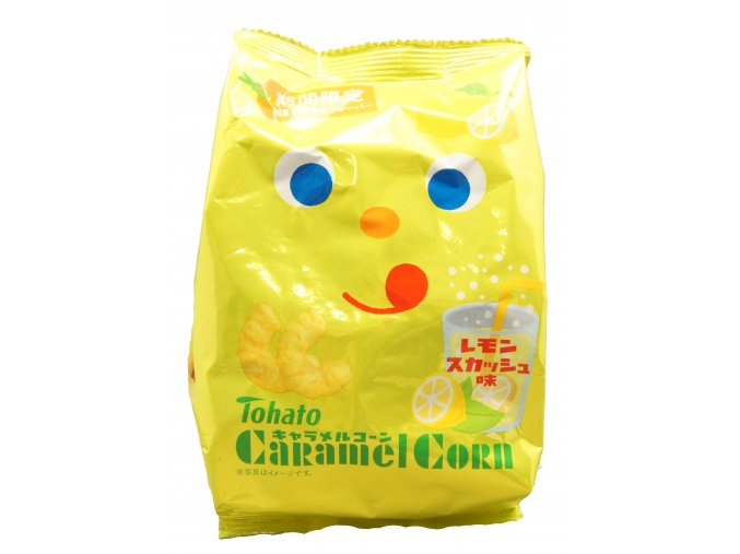 Tohato Caramel Corn Lemon soda 77g