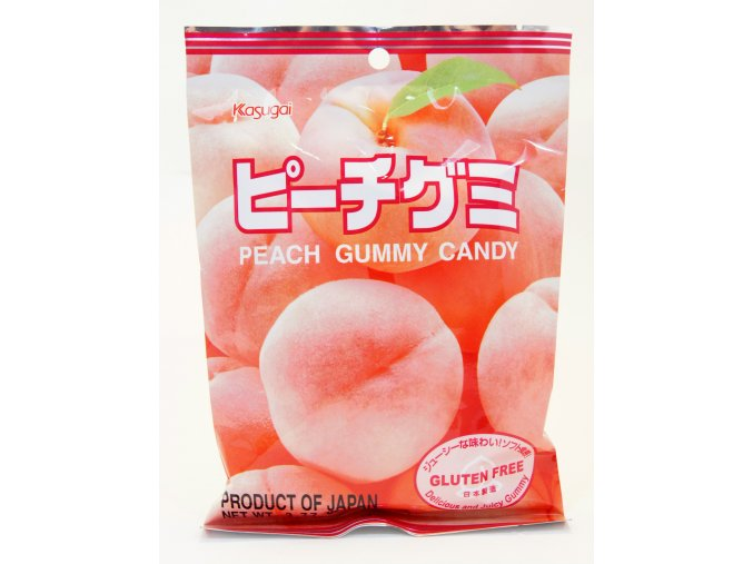 Kasugai Peach Gummy Candy 107g