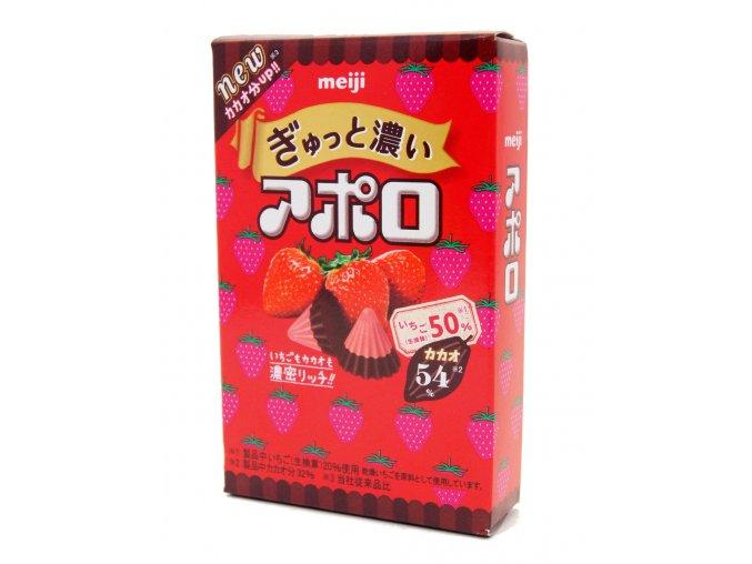 Meiji Apollo Strawberry 40g