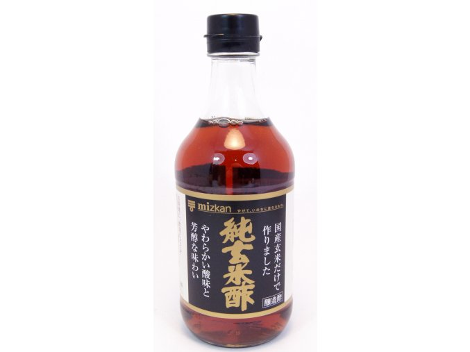 Mizkan Jun Genmaisu Kuro 500ml