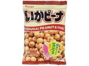 Kasugai Squid Pea Snack 62g