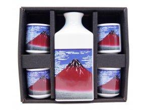 Fuji Sake set FUJI ( MO7-F )