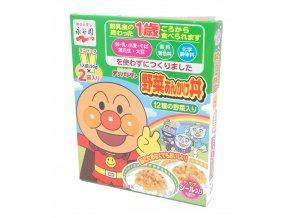 Nagatanien Anpanman Mini Pack Yasai Ankake Don 2x50g