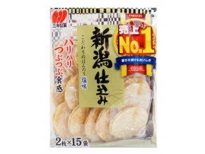 Sanko Seika Rice Cracker Plain 2x15ks