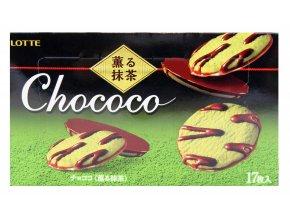 Lotte Chococo Kaoru Matcha 17p