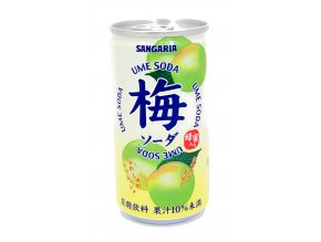 Sangaria Ume Soda 190ml