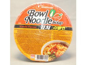 Nong Shim Kimchi Bowl Noodle Soup - prošlé datum minimální trvanlivosti