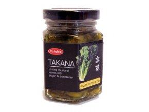 Yutaka pickled Takana mustard leaves 110g