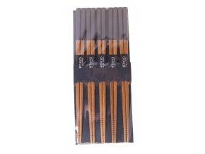 Sada dřevěných hůlek lakované ( černé )