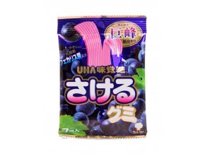 UHA Mikakuto Sakeru Gummy Grape 30g