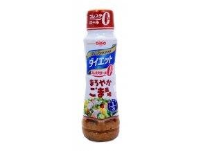 Nissin Oillio Dressing Diet Maroyaka Goma Fumi 185ml