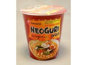 Nong Shim Neoguri Spicy Seafood Cup 62g - prošlé datum minimální trvanlivosti
