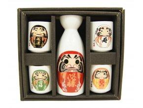 Fuji Sake set ( daruma )