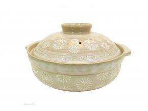Keramická nádoba s pokličkou ( velká )