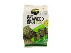 Bibigo Cripsy Seaweed Snacks Wasabi 5g