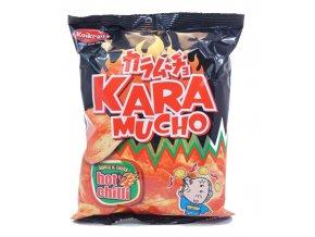 Koikeya Kara Mucho Chilli Chips 60 g - prošlé datum minimální trvanlivosti