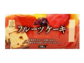 Sakura Seika Fruit Cake 5p