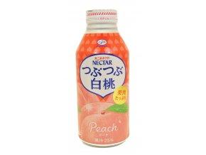 Fujiya Nectar Tsubu Shiro Momo Peach 380ml