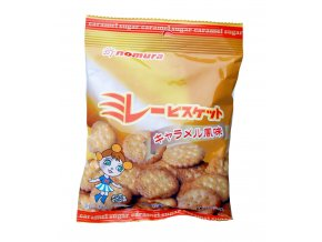 Nomura Biscuit Caramel Flavor 70g