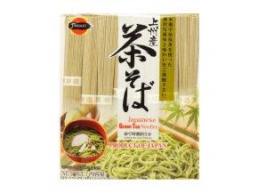 J-Basket Chasoba Japanese Green Tea Noodles 640g