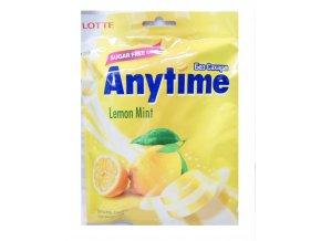 Lotte Xylitol Anytime Lemon Mint 74g - prošlé datum minimální trvanlivosti