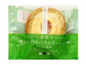 Taiyo Food Milk & Matcha Cake 75g