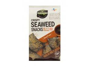 Bibigo Cripsy Seaweed Snacks Korean BBQ 5g