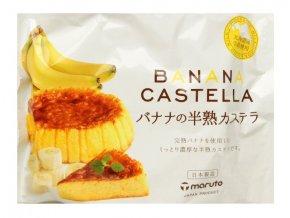 Maruto Castella Banana 165g