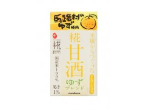 Marukome Koji Amazake Yuzu 125ml