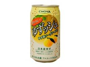 Choya Yuzu Wine Soda Non-Alkohol 350ml