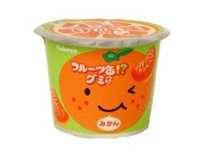 Kabaya Fruit Can Gummy Mikan 50g