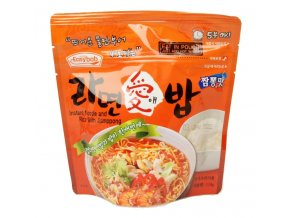 Easybab Instant Noodle and Rice With Jjamppong 110g