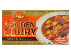 S&B Golden Curry Mild 240gs