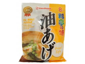 Marukome Instant Miso Soup Fried Tofu (8p) 190g