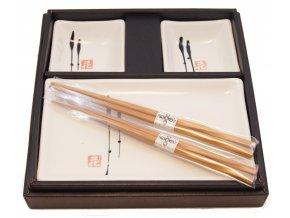 Set na sushi pro dvě osoby BH64-W