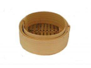 Bambusový napařovač jedno patro (průměr 15cm)