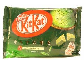 Nestle Kitkat mini Matcha čokoláda se zeleným čajem 135,6g