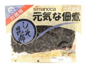Shimanoka Genki na Tsukudani Shiso Konbu uvařené řasy 100g