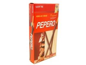 Lotte Pepero Original čokoládové tyčinky 32g