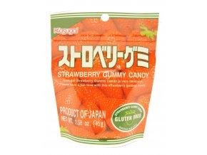 Kasugai Strawberry Gummy japonské bonbony 45g