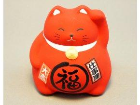 Neko Japonská kočičí kasička ( červená )