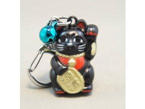 Neko kočičí přívěšek ( černá )