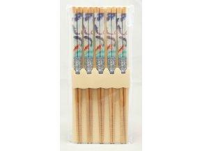 Tokyo set bambusových hůlek se vzory koi kaprů ( 4011 )
